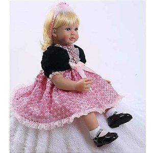 Bebê Reborn Princesa Jessica 60cm - Pronta Entrega!