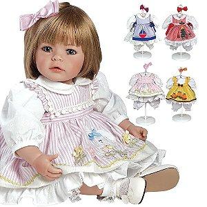 Bebê Reborn Adoral Doll Pin a Four Season Original - Pronta Entrega!