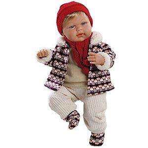 Boneco Estilo Bebê Reborn Eduard Elegance 40cm - Baby Brink!