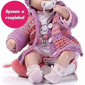 Enxoval para Bebê Reborn de 47cm - Somente a Roupinha!