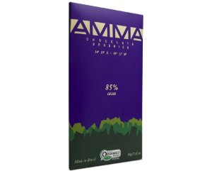 Chocolate Orgânico 85% Cacau 80g - Amma Chocolate