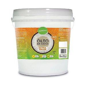 Óleo De Coco Extra Virgem 3 Litros - Qualicôco