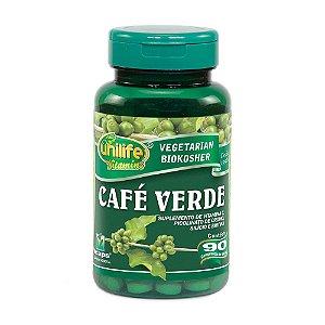 Café Verde 400mg 90 Cápsulas - Unilife