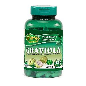 Graviola 560mg 120 Cápsulas - Unilife