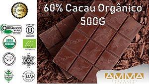 Chocolate Orgânico 60% - AMMA - 500G