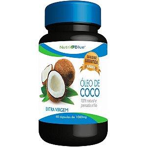 Óleo de Coco 1000mg 60 Cápsulas - NutriBlue
