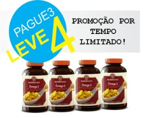 Omega 3 100mg 60 Cápsulas Pague 3 leve 4 - NutraMagic