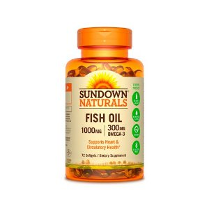 Fish Oil 1000mg 72 Cápsulas - Sundown