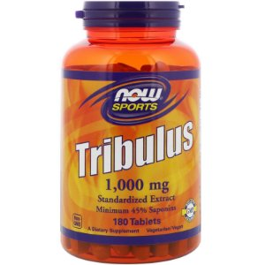 Tribulus Terrestris 1000mg 90 capsulas - Now Sports