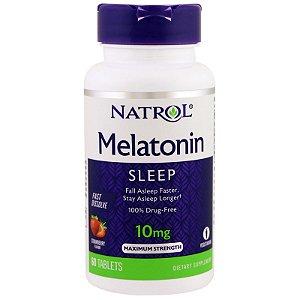 Melatonina 10mg 60 Cápsulas - Natrol