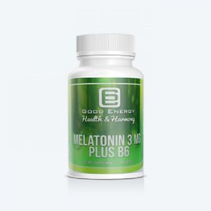 Melatonina 3mg 60 Cápsulas - Googd Energy