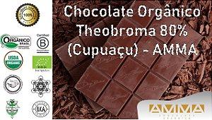 Chocolate Orgânico Theobroma 80% (Cupuaçu) 1Kg - Amma Chocolate