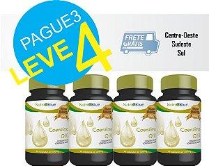 Coenzima Q10 + Vitamina E 60 Cápsulas 4 Unidades - Nutriblue