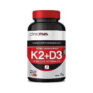 K2+D3 15g 30 caps - ClinicMais