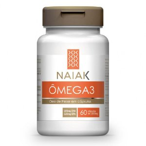 Ômega 3 1000mg 60 Cápsulas - Naiak