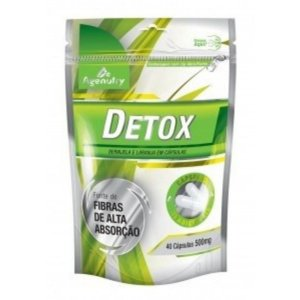 Detox 500mg 40 Cápsulas - Agenutry