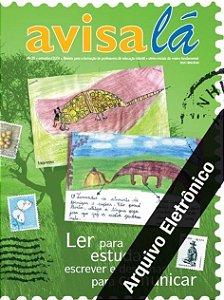 Arquivo Eletrônico Avisa lá #20 - Ler para estudar, escrever e desenhar para comunicar