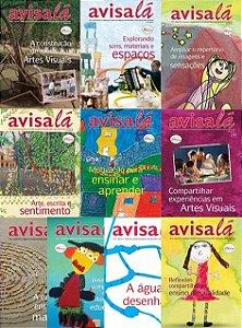 Pacote de revistas Avisa lá com 10 edições  #50 a 59