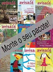 Pacote de revistas Avisa lá com 5 edições à sua escolha #50 a 59