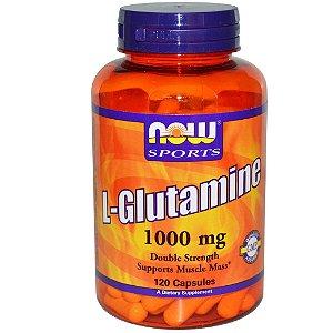 L-Glutamina Now Sports 1000mg 120 caps