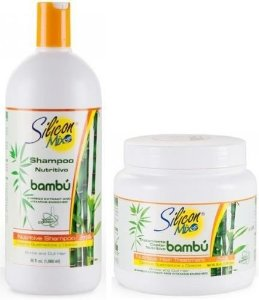 Kit Silicon Mix Bambu - Shampoo 1 Litro + Máscara 1 Kg