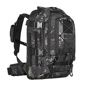 Mochila Militar Invictus Duster Multicam Black 50 Litros