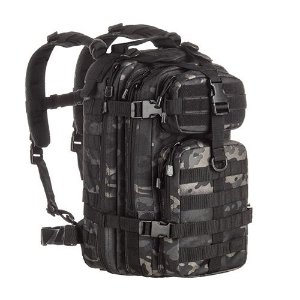 Mochila Militar Invictus Assault Multicam Black 30 Litros