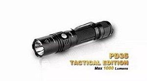 Lanterna Fenix Pd35 1000 Lumens + Carregador e Bateria