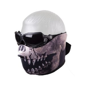 Óculos e Máscara para Airsoft - Crosman
