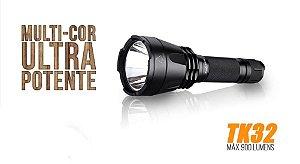 Lanterna Fenix TK32 900 Lummens com alcance de até 400m
