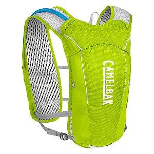 Mochila Camelbak de Hidratação Circuit Vest Amarelo 1,5L