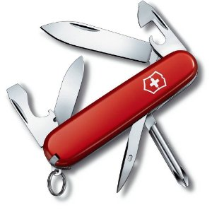 Canivete Victorinox Tinker Small Vermelho 12 Funções 0.4603