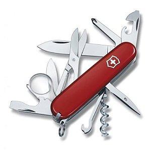Canivete Victorinox Explorer Vermelho 16 Funções 1.6703