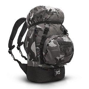 Mochila Trilhas & Rumos Trekking 35L Camuflado Escuro
