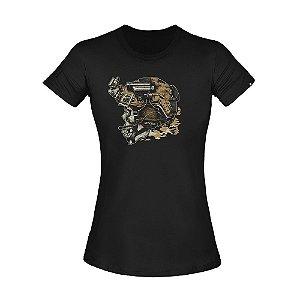 Camiseta Feminina Invictus T-Shirt Concept Blackjack