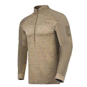 Camisa de Combate Invictus HAWK Caqui Mojave