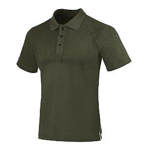 Camisa Polo Invictus Control Verde Oliva