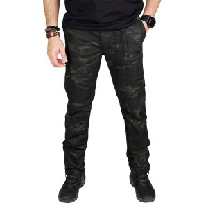 Calça Masculina Bélica Multiforce Multicam Black