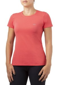 Camiseta Feminina Solo ION UV com Proteção Solar Rosa Coral