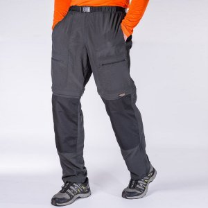 Calça Bermuda Hard Adventure Mountain Masculina Chumbo