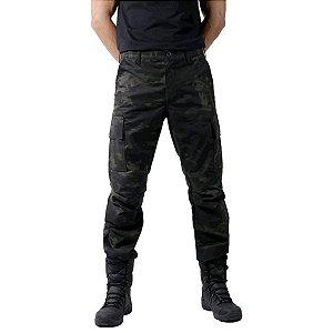 Calça Masculina Bélica Combat Multicam Black