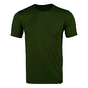 Camiseta Tática Bélica Soldier Verde Escuro