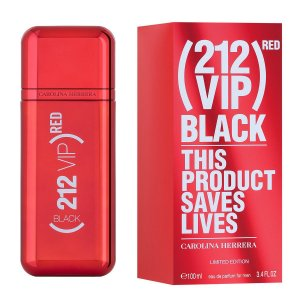 PERFUME 212 VIP BLACK RED 100ML