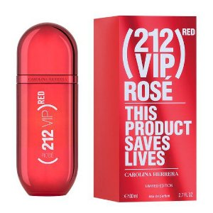 PERFUME 212 VIP ROSE RED 80ML