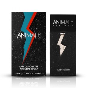PERFUME ANIMALE FOR MEN 100M PRETO E PRATAL