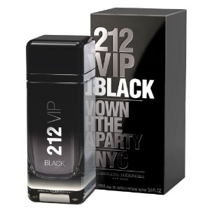 PERFUME CAROLINA HERRERA 212 VIP BLACK 100ML