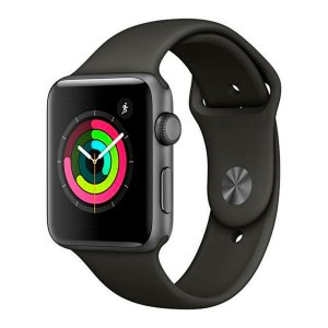 Smartwatch Apple watch Serie 3 42mm Preto (Cinza espacial) com GPS