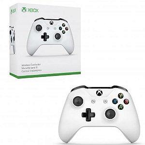 Controle Sem fio Xbox one S branco