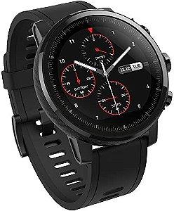 Relógio smartwatch xiaomi amazfit Stratos Preto