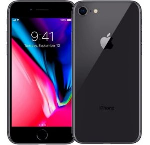 iPhone 8 64gb Preto SemiNovo de Vitrine